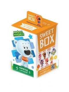 Sweet BOX MI-MI-BEARS Marmalade with toy in box