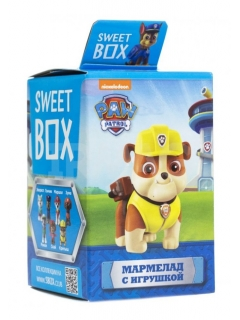 Sweet Box PUPPY PATROL Marmalade with toy in box