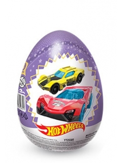 SHOCKEY-TOKI HOT wheels 2 chocolate egg with a toy