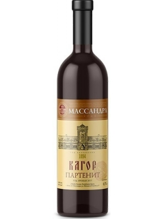 Kagor Partenit red wine liqueur of Crimea Massandra Kagor Partenit red wine liqueur of Crimea Massandra