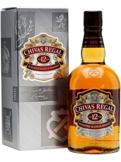 Chivas Regal Whisky 12 years gift wrap
