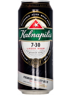 Kalnapilis beer 7.3 malt light pasteurized