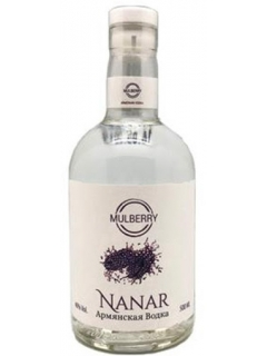 Nanar Armenian vodka fruit mulberry