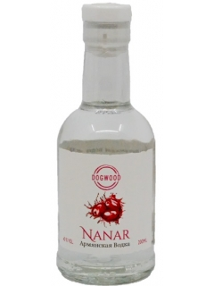 Nanar Armenian vodka fruit dogwood