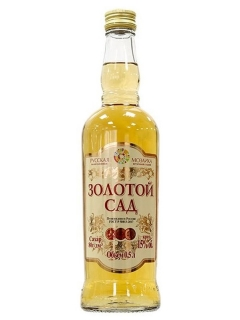 Russian Golden garden mosaic wine sweet drink