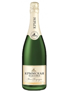 Crimean Classics wine sparkling semi-sweet white