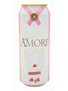Amore Strawberry low-alcohol fizz drink