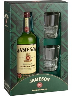 Jameson Whisky Gift Package with 2 glasses