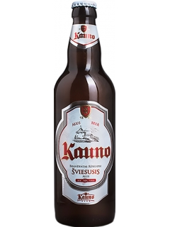 Beer Kauno Sviesusis malt light filtered