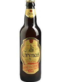 Beer Grynas Svieusis light malt filtered