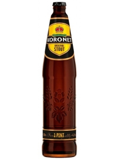 Koronet Original Stout dark beer