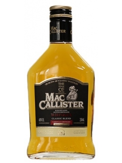 MacCallister classic blend whisky