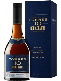 Torres 10 Double Barrell Brandy Gift Packaging