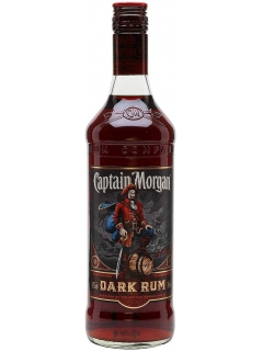 Captain Morgan Dark Rum Unstinent
