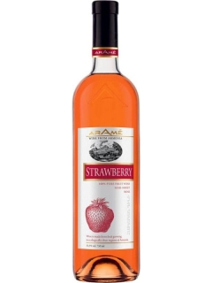 Aramea fruity strawberry pink wine
