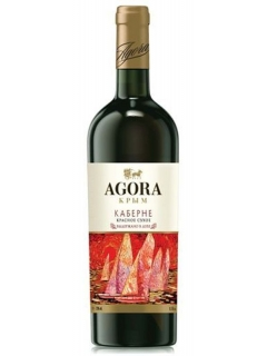 Agora Cabernet dry red table wine