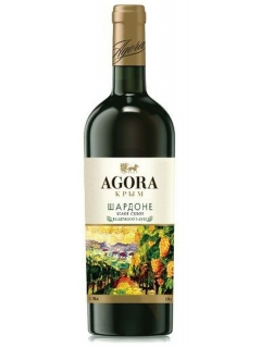 Agora Chardonnay dry white table wine