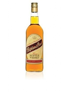 Highland Pearl Scotch blended whiskey