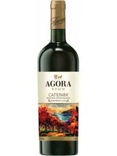 Agora Saperavi table red semisweet wine