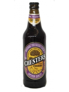 CHESTER`S Cider a low-alcohol drink mead fermented cherry