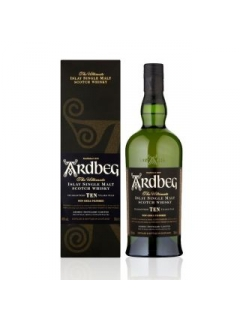 Ardbeg single malt whisky 10 years exposure gift wrap