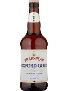 Brakspear Oxford Gold Beer