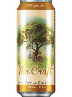 Mr.Craft cider semi-dry