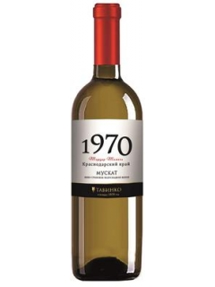 1970 series Muscat white semisweet table wine